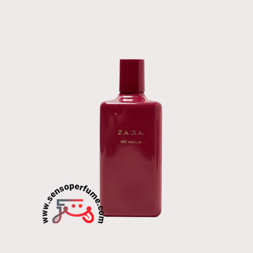 Zara red vanilla